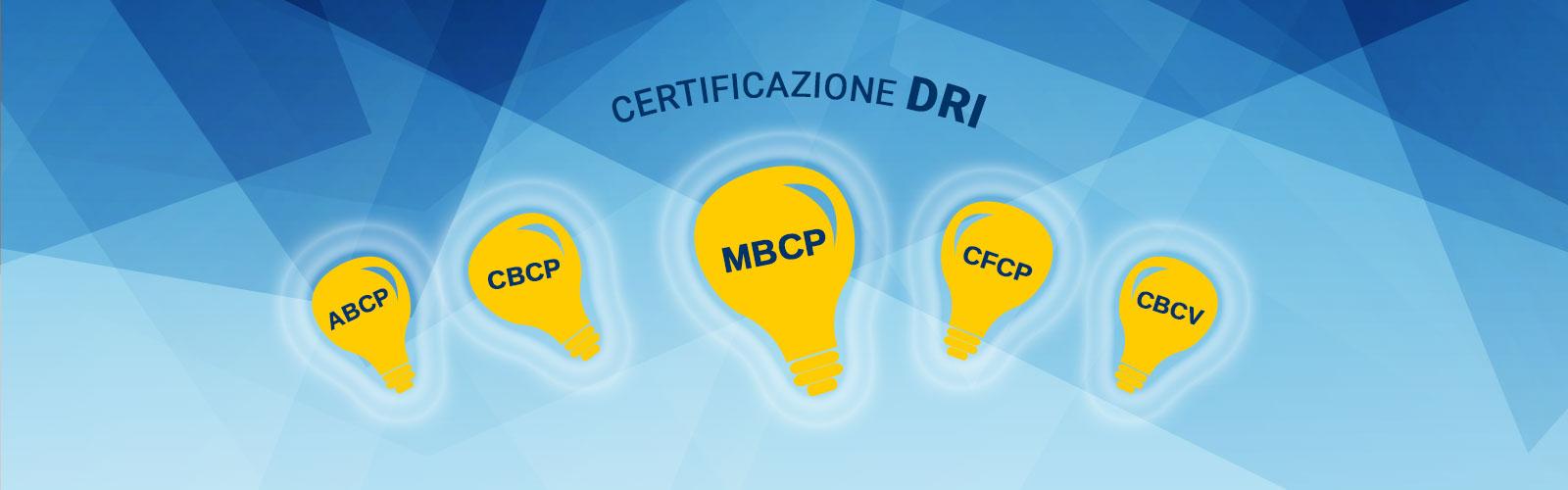 Certificazioni DRI