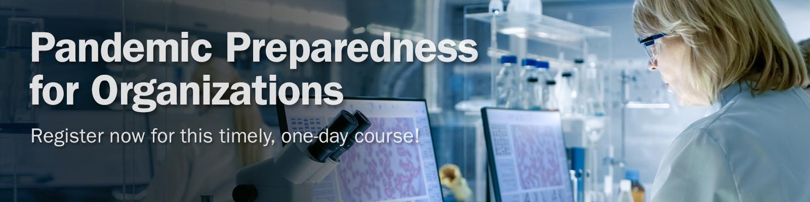 Corso online per la predisposizione del Piano Pandemico